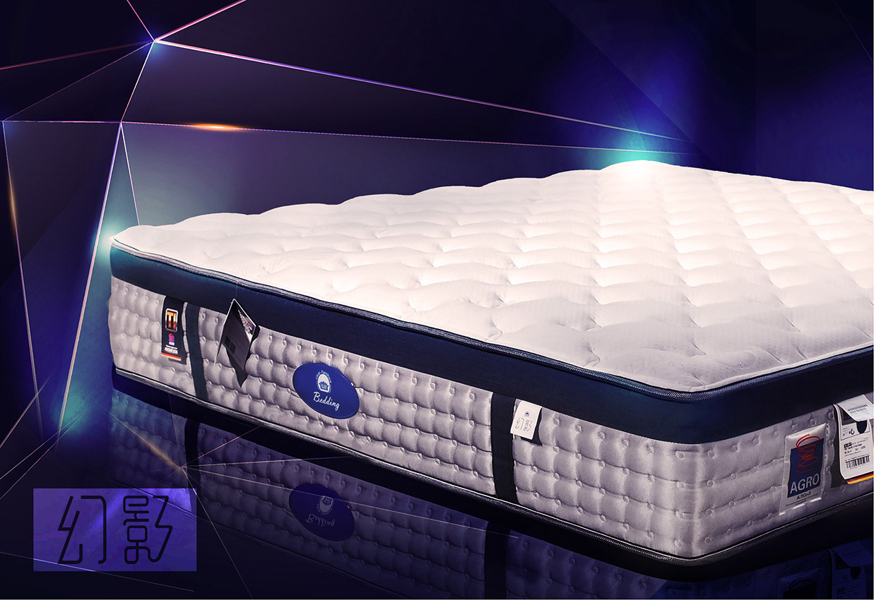 台中品牌床墊【Likai Bedding】幻影床墊