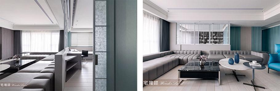 兩房也能達到有層次感的三房兩廳