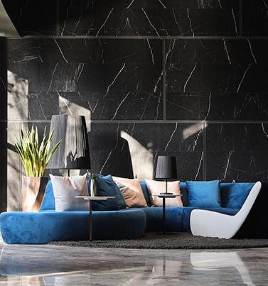 莉凱家俱設計師獨特設計流線型沙發