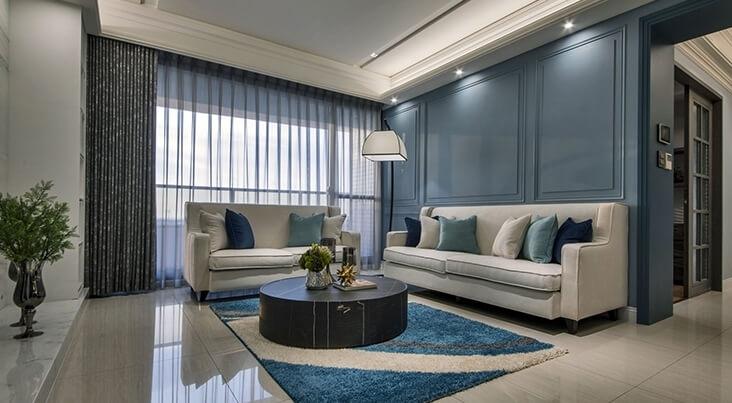 莉凱居家空間設計:勾勒冷色的動線