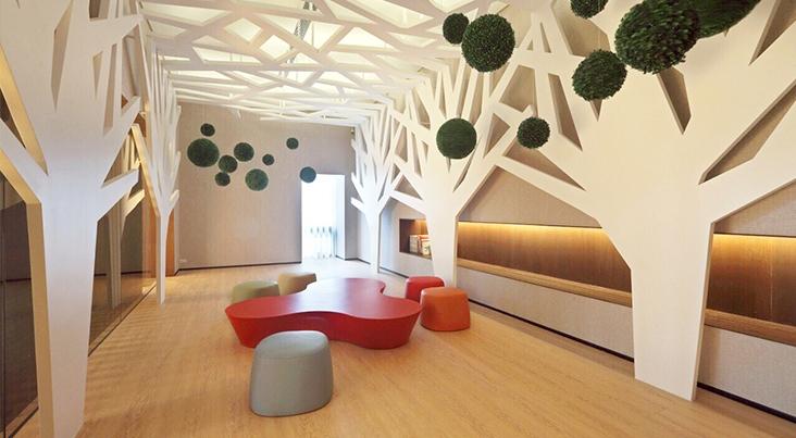 莉凱公共空間設計:五彩斑斕
